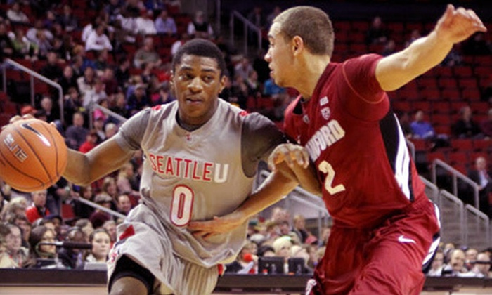 Seattle University Redhawks Men's Basketball - Lower Queen Anne: Two Tickets to Seattle Redhawks Men's Basketball Game at KeyArena on Saturday, Dec. 22. Four Seating Options.