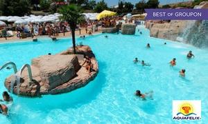 Aquafelix: Aquafelix - Ingresso al parco acquatico con scivoli, con giochi, attrazioni e spettacoli (sconto 25%)
