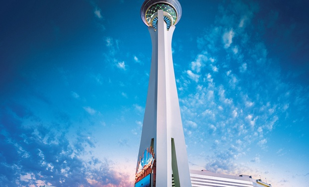 Stratosphere Hotel, Casino & Tower - Las Vegas, Nevada: Stay with $20 Resort Credit per Stay at Stratosphere Hotel, Casino & Tower in Las Vegas. Dates into December.