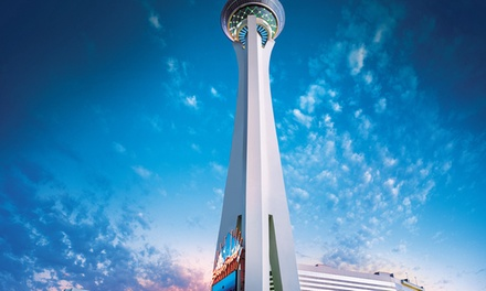 Stay with Food and Beverage Credit at Stratosphere Casino, Hotel & Tower in Las Vegas, NV. Dates into March 2019