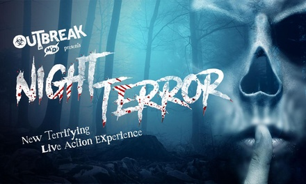 Entry to Night Terror, 29 September - 29 October, at M&D's Theme Park (Up to 38% Off)