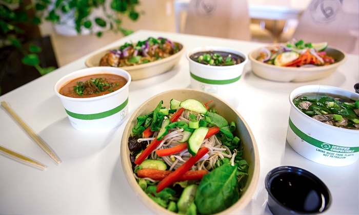Balance Pan-Asian Grille - Multiple Locations: Asian-American Cuisine and Bubble Tea at Balance Pan-Asian Grille (Up to 37% Off). Two Options Available.