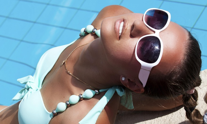 Instyle Full Service Salon - Northeast San Antonio: One Custom Airbrush Tan at Instyle Full Service Salon (58% Off)