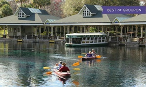 Silver Springs State Park: $50 for Glass-Bottom Boat Tour and a Kayak or Canoe Rental at Silver Springs State Park ($80 Value)