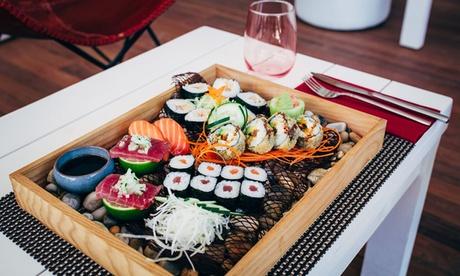 Menú degustación japonés con maridaje de cerveza para dos o cuatro personas desde 29,95 € en Marina Cíes