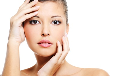 One or Three Microdermabrasion Facial Treatments at The Treatment Room at He & Me Hair Designs (Half Off)
