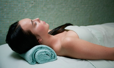 Choice of Facial, Hot Stone Massage, Wine, and Dessert at The Pink Cottage of Jensen Day Spa (Up to 59% Off)