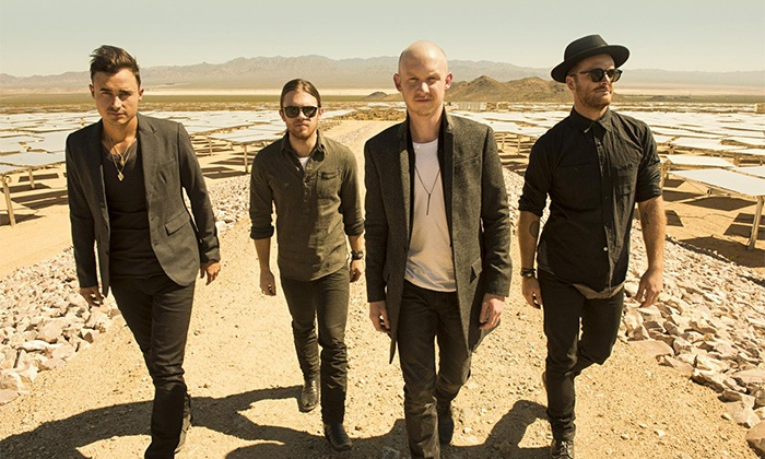The Fray - Uptown Amphitheatre at NC Music Factory: The Fray at Uptown Amphitheatre Charlotte on July 15 at 7:30 p.m. (Up to 47% Off)