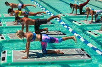 One, Five or Ten Group Aqua Float Fitness Classes for One with Float:UAE, Six Locations (Up to 25% Off)