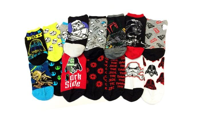 10-Pack of Boys' Star Wars Socks: 10-Pack of Boys' Star Wars Socks. Multiple Colors Available. Free Returns.