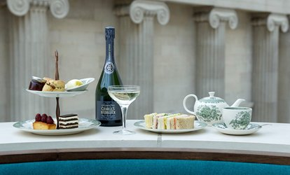 image for Afternoon Tea for One or Two The Great Court Restaurant, British Museum (Up to 32% Off)