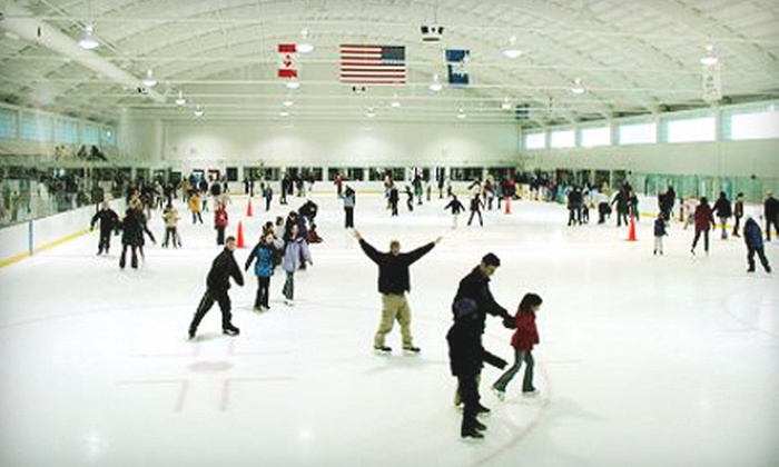 Veterans Memorial Skating Rink - West Hartford: Open Skating for Two or Four with Skate Rentals at Veterans Memorial Skating Rink in West Hartford (Up to 56% Off)