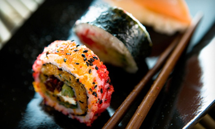 Infuzon - Core-Columbia: Sushi and Drinks for Two or Four at Infuzon (Up to 52% Off)