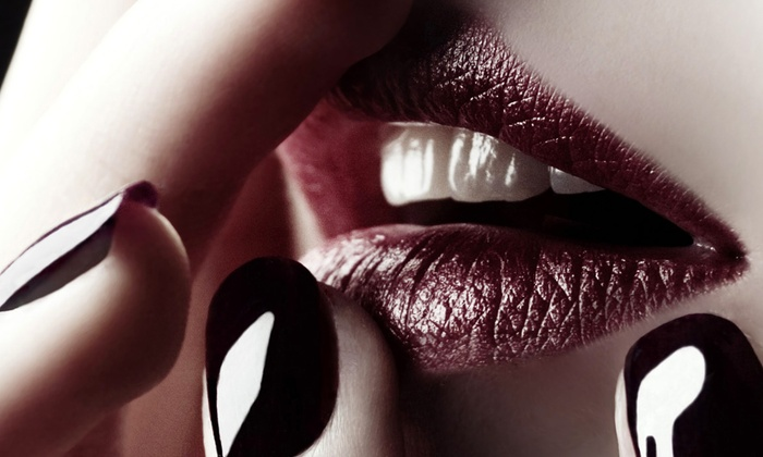 Salon Deco - Downtown Springfield: One or Two Groupons, Each Good for One Shellac Manicure with Wine at Salon Deco (Up to 51% Off)