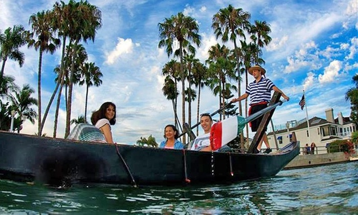 The Gondola Getaway - Belmont Shore: $79 for a One-Hour Gondola Ride for Up to Four People from The Gondola Getaway ($130 Value)