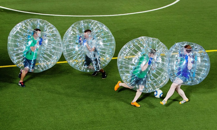 Bullpen Brothers  - Ellisville: One or Two Hours of Bubble Soccer and Indoor Facility Rental at Bullpen Brothers (Up to 63% Off)