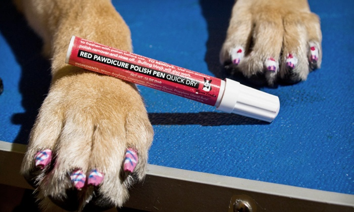 Warren London Pet Nail-Polish Pens: Warren London Three- or Four-Color Pet Nail-Polish Pens (Up to 53% Off). Free Shipping on Purchases of $15 or More.