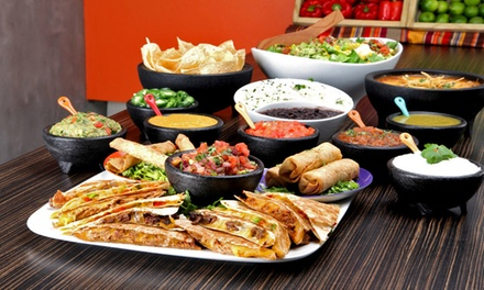 $12 for $20 Worth of Mexican Food and Drinks for Two or More at Salsa Fiesta Grill