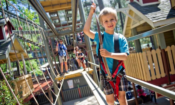 Stone Mountain Park - Stone Mountain, GA: One or Four Adventure Passes at Stone Mountain Park (Up to 32% Off)