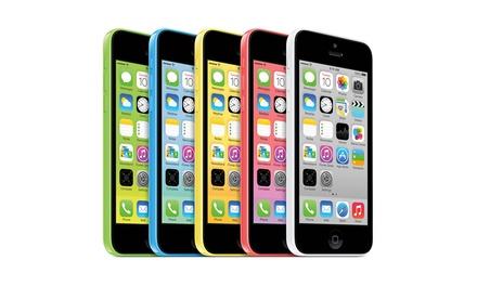 iPhone 5C de 16 GB recondicionado e disponível nas diferentes cores por 269€