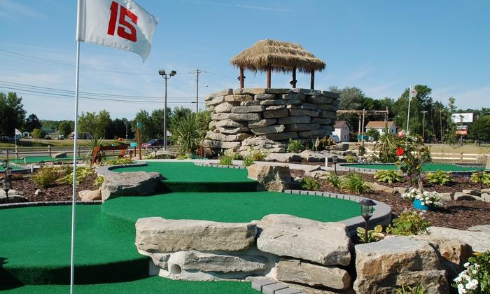 The Ruins Adventure Mini Golf - Oconto: Up to 39% Off Mini Golf  at The Ruins Adventure Mini Golf