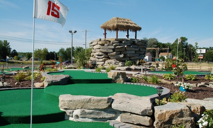 Up to 39% Off Mini Golf  at The Ruins Adventure Mini Golf