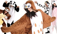 GROUPON: Unisex Cozy Plush Animal Bodysuits  Unisex Cozy Plush Animal Bodysuits