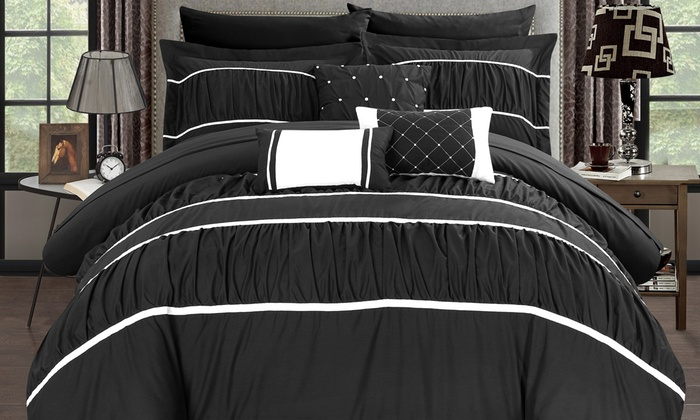 Temporary Price Cut Chic Home Pleated Amp Ruffled Bed In A