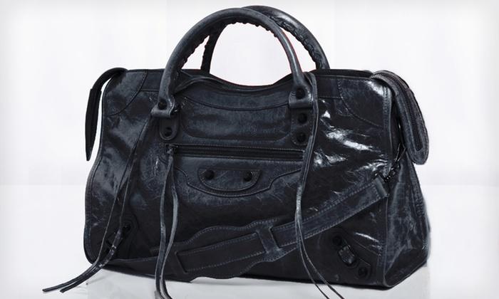 Balenciaga City Classic Bag: $1,119.99 for a Balenciaga City Classic Bag in Black or Dark Night ($1,545 List Price)