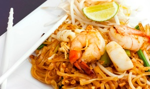 Up to 45% Off at Deejai Thai Restaurant at Deejai Thai Restaurant, plus 6.0% Cash Back from Ebates.