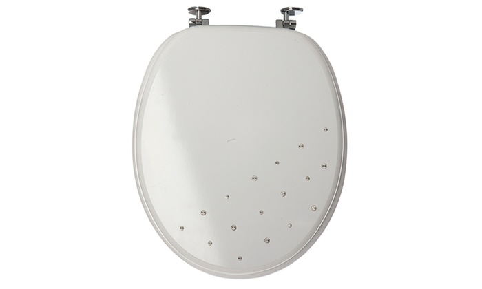 Sabichi Diamante Toilet Seat Groupon