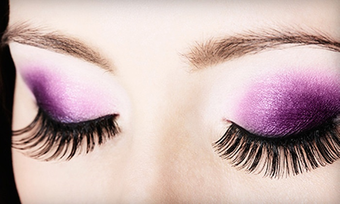 Dulce Lash Lounge - Multiple Locations: Full Set of Synthetic or Mink Eyelash Extensions at Dulce Lash Lounge (Up to 60% Off)