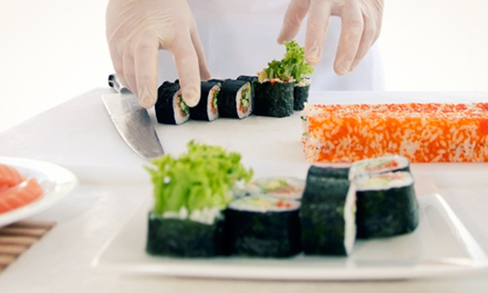 Kai Japanese and Asian Cuisine - Northwest Side: Sushi-Making Class for One, Two, or Four at Kai Japanese and Asian Cuisine (Up to 63% Off)