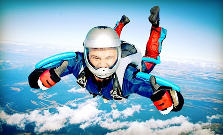 First Jump Course with Ground Instruction and a Solo Skydive, or a Tandem Skydive at Skydive Manitoba (Up to Half Off)