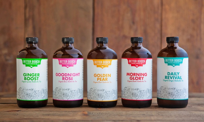 Better Booch - Downtown Los Angeles: 14- or 30-Day Kombucha Cleanse or Growler with Three Refills from Better Booch (Up to 40% Off)