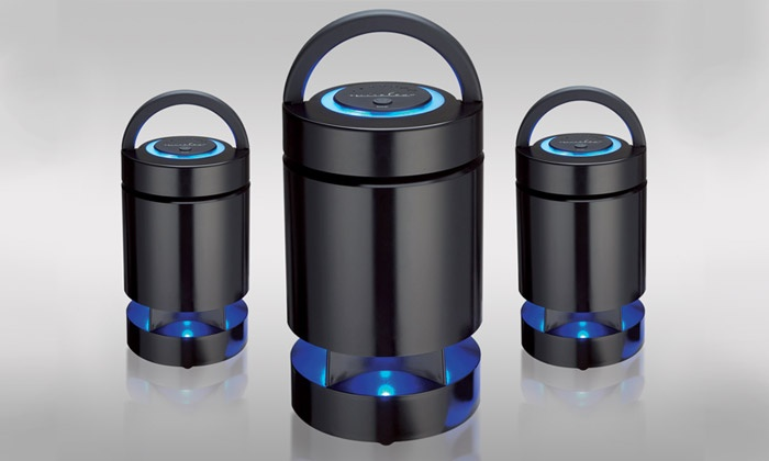 enceinte outdoor waterproof bluetooth groupon shopping. Black Bedroom Furniture Sets. Home Design Ideas