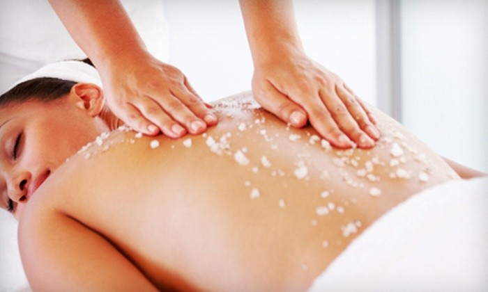 Friends Day Spa & Salon - Fleming Island/Middleburg: Pumpkin-Spice Body Scrub with Optional Massage at Friends Day Spa & Salon (Up to 55% Off)