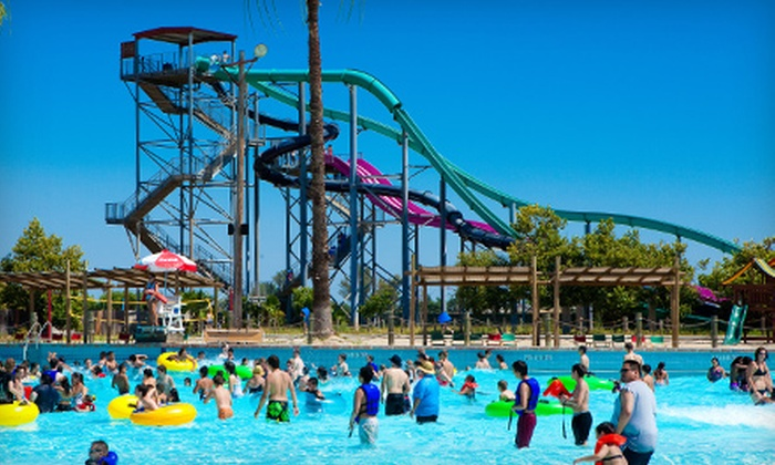 Island Waterpark - Highway City: $29 for All-Day Visit for Two at Island Waterpark (Up to $57.98 Value)