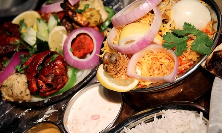 Indian Food for Two or Four at Paradise Biryani Pointe (50% Off)
