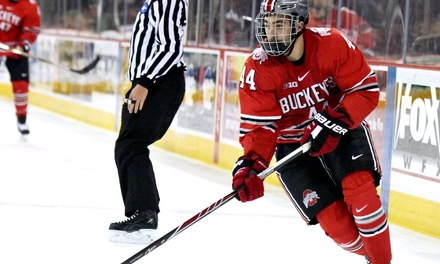 $19 for One Ticket to a Round of the Big Ten Men's Hockey Tournament at Joe Louis Arena, Plus a T-Shirt ($45 Value)
