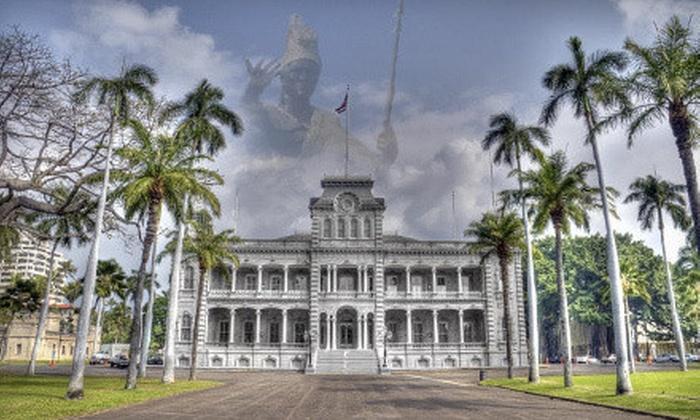 Ohana Walking Tours - Honolulu: $20 for a Guided Honolulu Walking Tour for Two from Ohana Walking Tours ($40 Value)