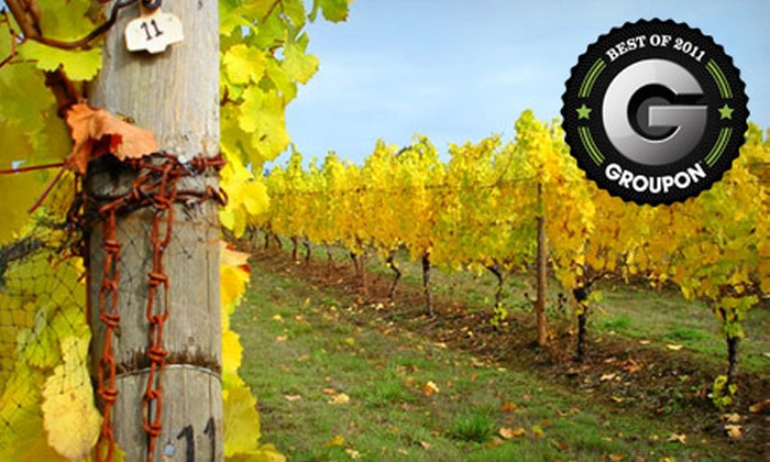 LaVelle Vineyards - LaVelle Vineyards in Elmira: $25 for Vineyard Tour and Wine Tasting for Up to Four at LaVelle Vineyards in Elmira ($85 Value)