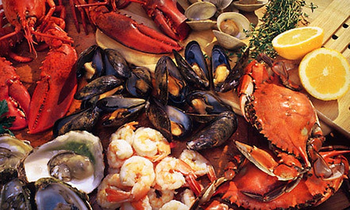 JJ Bistro & French Pastry - Kaimuki: Seafood Feast with Sides for Two or Four at JJ Bistro & French Pastry (Half Off)
