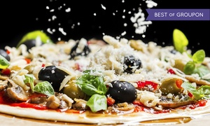 Randy's Wooster Street Pizza - Manchester: Brick-Oven Pizza for Lunch or Dinner at Randy's Wooster St. Pizza Shop (Up to 40% Off)