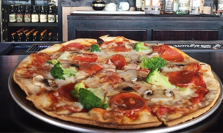 Pizzeria Cuisine at Sliccily Pizzapub (40% Off). Two Options Available.