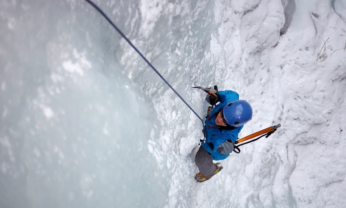North Ridge Mountain Guides - Twin Mountain, NH: Six-Hour Ice-Climbing Expedition for Two or Four from North Ridge Mountain Guides (Up to 60% Off)