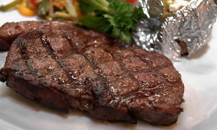Kansas City Strip-Steak Dinner for Two, Four, or Six at The Silver Flame Steakhouse (Up to 46% Off)