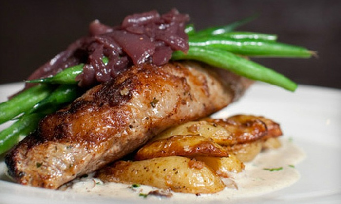 Isabella Restaurant - Downtown Dedham: Upscale American Dinner for Two or Four at Isabella Restaurant in Dedham (Up to Half Off)