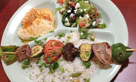 $20 for Four Groupons, Each Good for $10 Worth of Mediterranean and Mexican Cuisine at Frankiez ($40 Total Value)