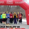 $16 for Entry for One to College Rivalry 5K (43% Off)